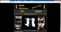 Joe's Barbershop Website