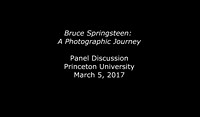 Bruce Springsteen: A Photographic Journey - Princeton, NJ March 2017